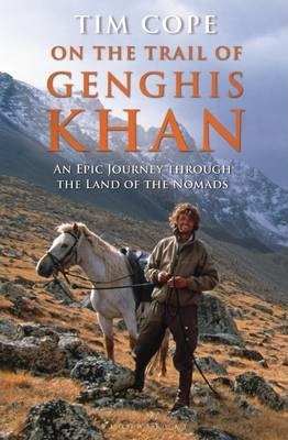 The cover of the Tim Cope book - on the Trail of Genghis Khan