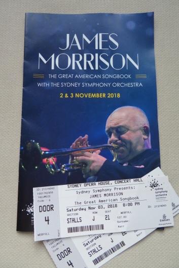 James Morrison Jazz Concert Programme and tickets