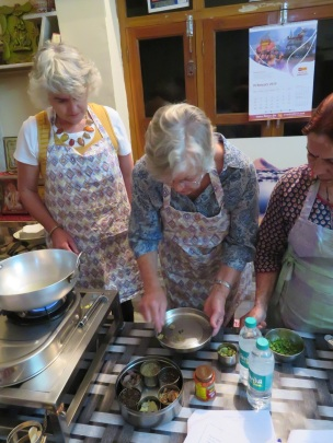Indian cooking class in Pushkar