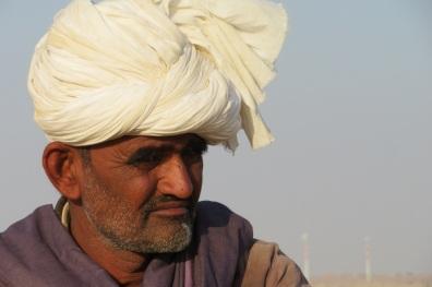 A cameleer in the Thar Desert