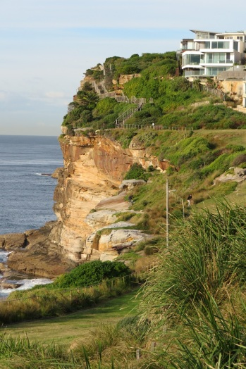 Coastal Path on the way to Bondi Beach