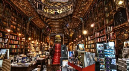 Livraria Lello Book store Porto Portugal
