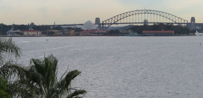 Views of Sydney Harbour Bridge from Point Piper