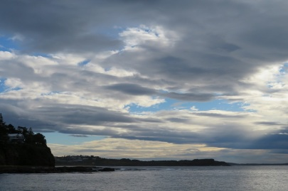 Moody skies at Kiama