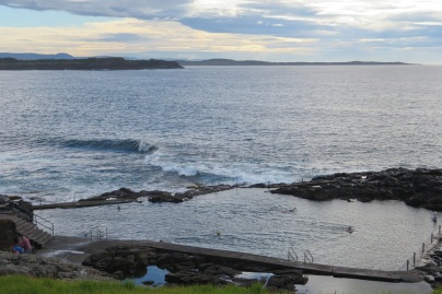 The ocean pool at KIama