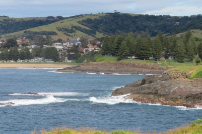 One of the beaches at Kiama
