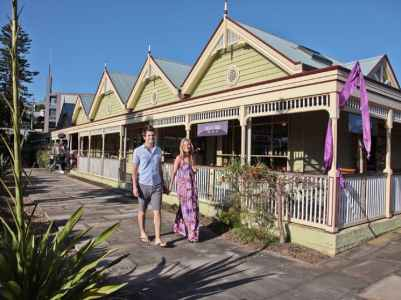 Lovingly restored timber buildings in Kiama