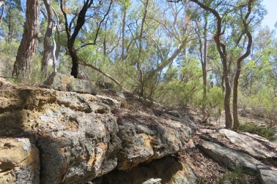 Pagoda rocks at Hands on Rock - Mudgee