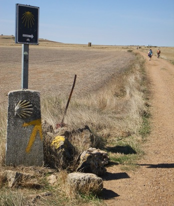 Stepping out on the Camino Frances in 2013