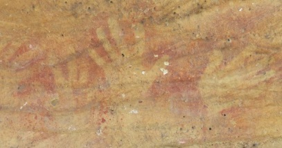 Hands on Rock - Aboriginal Rock Art - Mudgee