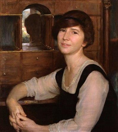 Portrait fo Freya Stark