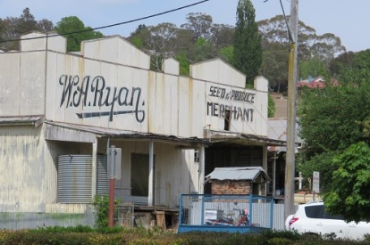Some of the remaining shop fronts in Walcha