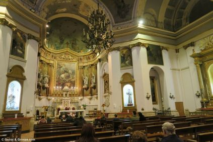 Gronze - Madrid - interior-iglesia-santiago