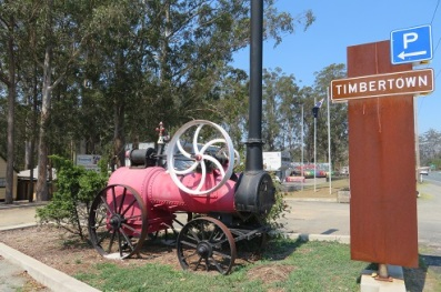 Timbertown entrance Wauchope NSW