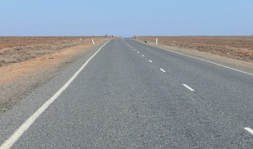 On the road to nowhere in Outback Australia