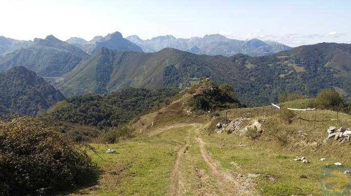 Camino San Salvador - Mountain View - caminodesantiago.me