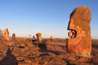 Sculptures in the Desert at Broken Hill