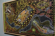Stunning Indigenous art at the Broken Hill Regional Gallery