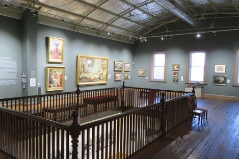 Upstairs at the Broken Hill Regional Gallery