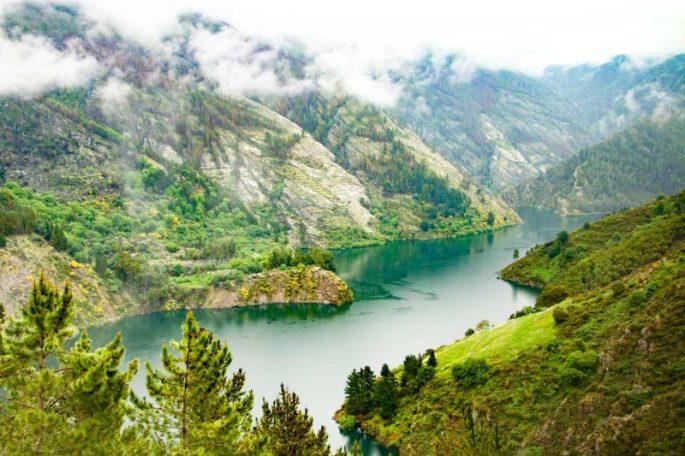 Camino Primitivo mountains