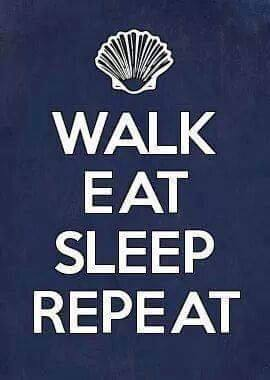 Walk Eat Sleep Repeat
