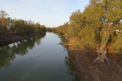 Early morning on the Darling River