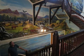 Murals at The Palace Hotel, Broken Hill