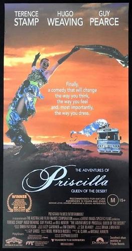 Poster of Priscilla Queen of the Desert Movie