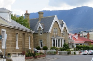 Historic homes in Hobart