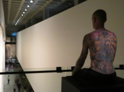 Tattoo Tim at Mona, Hobart Tasmania