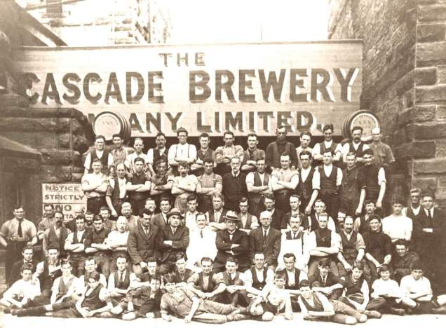 1924 Brewery workers - cascadebreweryco.com.au