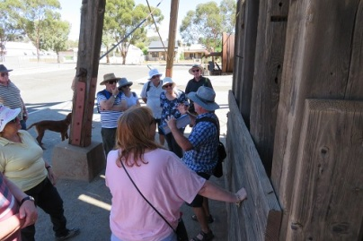 Broken Hill Heritage Walk tour group