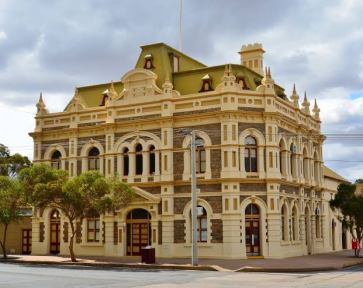 The Trades Hall building - Broken Hill.