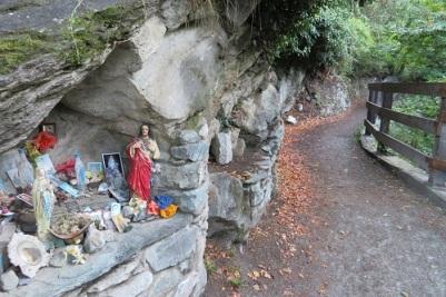 A small wayside shrine on the Italian Via Francigena