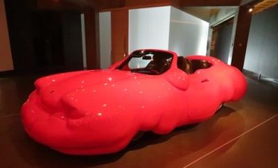 The Fat Car by Erwim Wurms at MONA, Hobart Tasmania