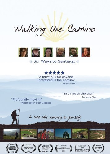 Walking the Camino movie poster. Source: amazon.com