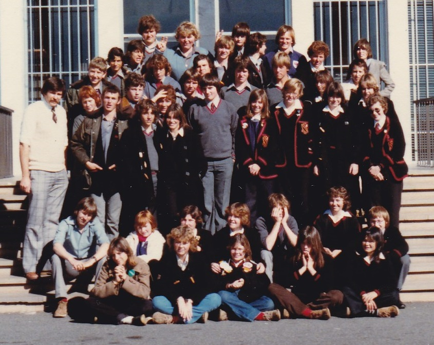 A group of high school students visit Canberra in 1980
