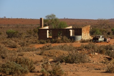 An old building in Silverton Outback NSW
