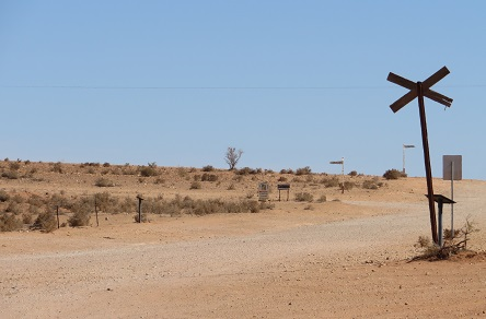Miles of nothingness at Silverton Outback NSW