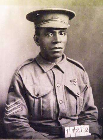 An Australian Indigenous soldier in World War 1