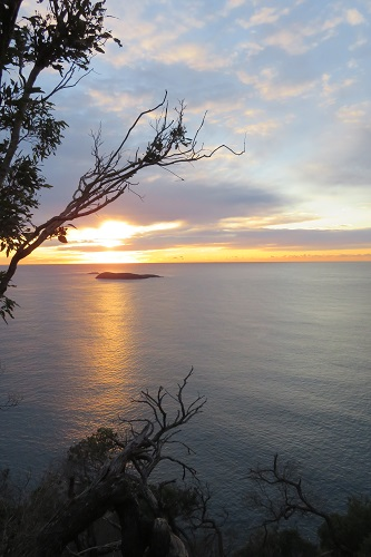 Sunrise from Tomaree Head Summit, Nelson Bay