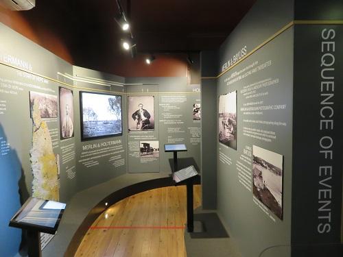 Internal views of the Holtermann Museum, Gulgong
