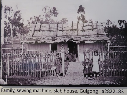 1872 sepia photographs of the gold rush days at Gulgong