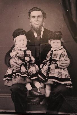 Studio photos taken by Henry Beaufoy Merlin in the gold rush days of Gulgong