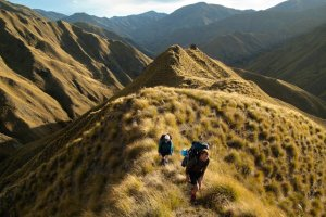 Photo of the terrain of the Te Araroa trail in New Zealandr