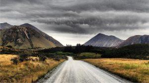 Stunning scenery on the Te Araroa Trail in NZ