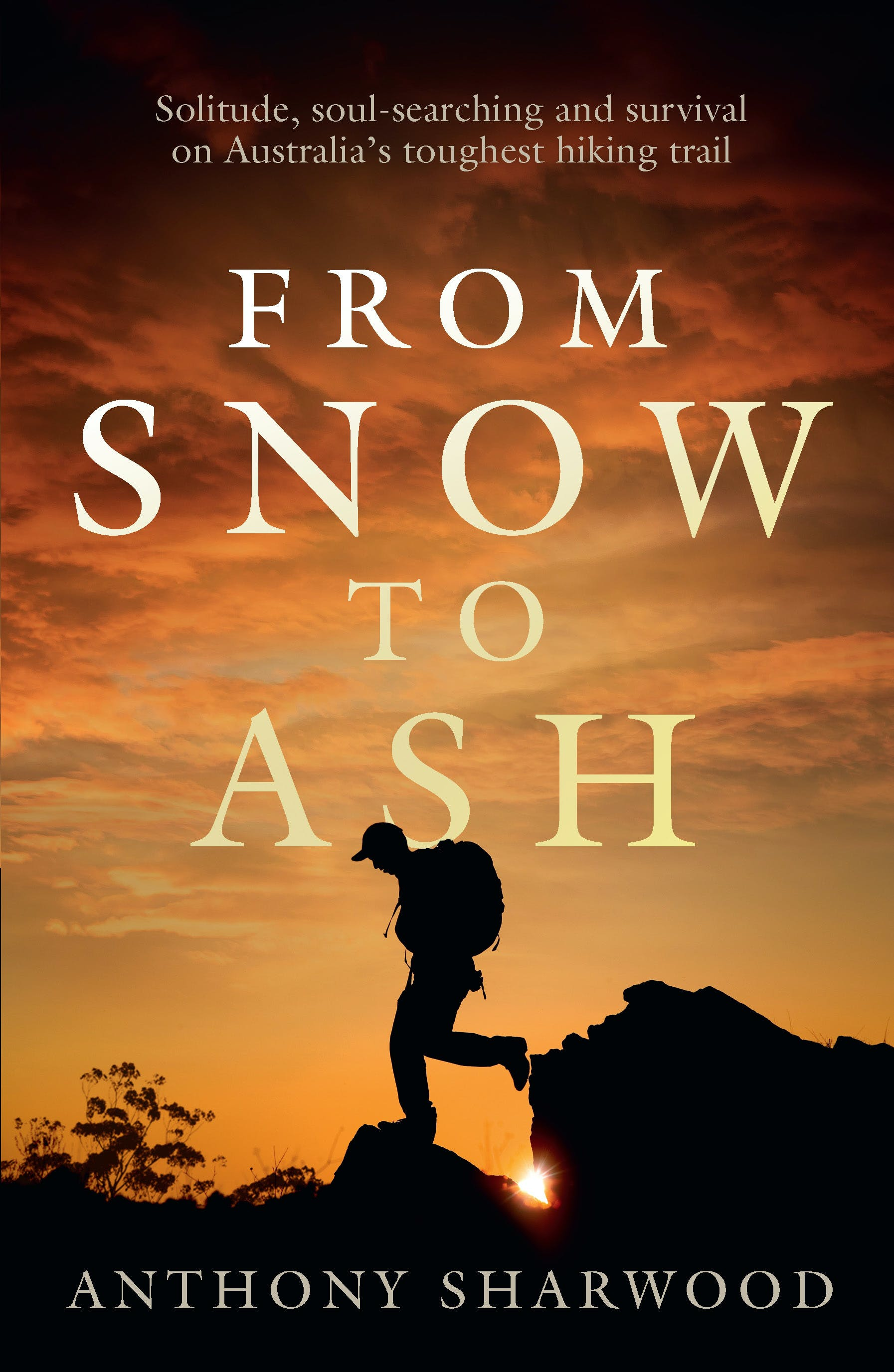 Cover of book - From Snow to Ash - published by Hachette