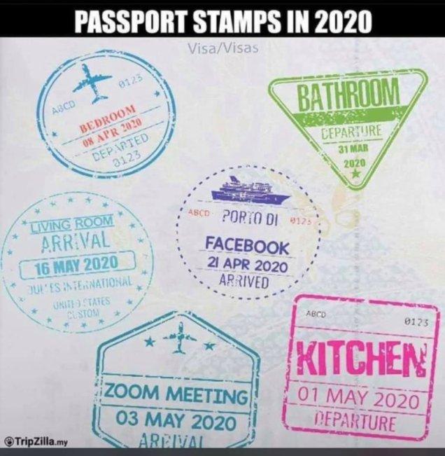 dummy passport stamps