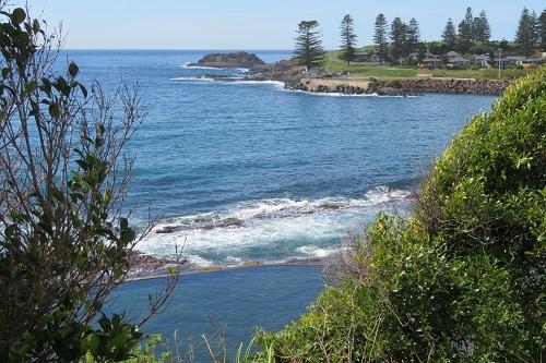 View from the Kiama Coast Walk