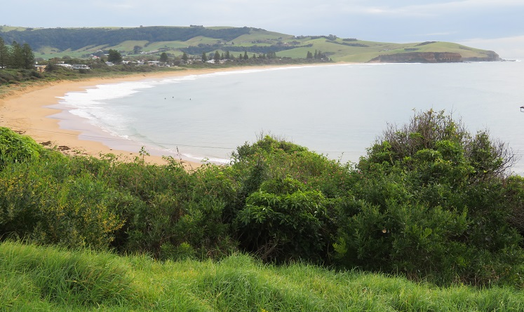 Views of Werri Beach Kiama Coast Walk